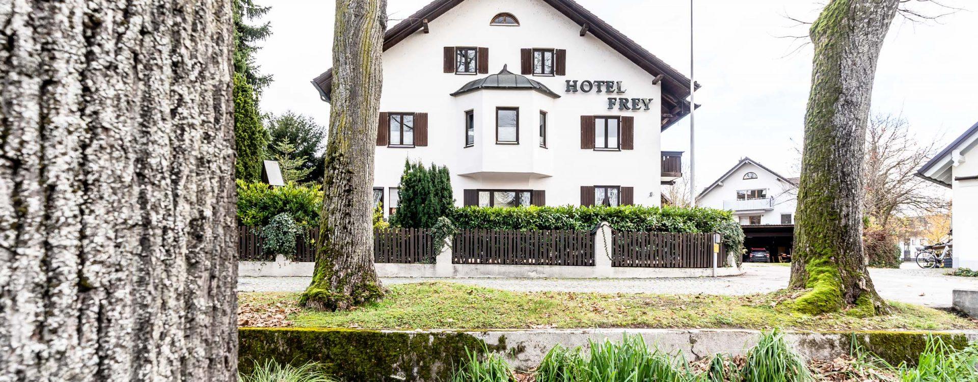 Aussenansicht Garni Hotel Frey